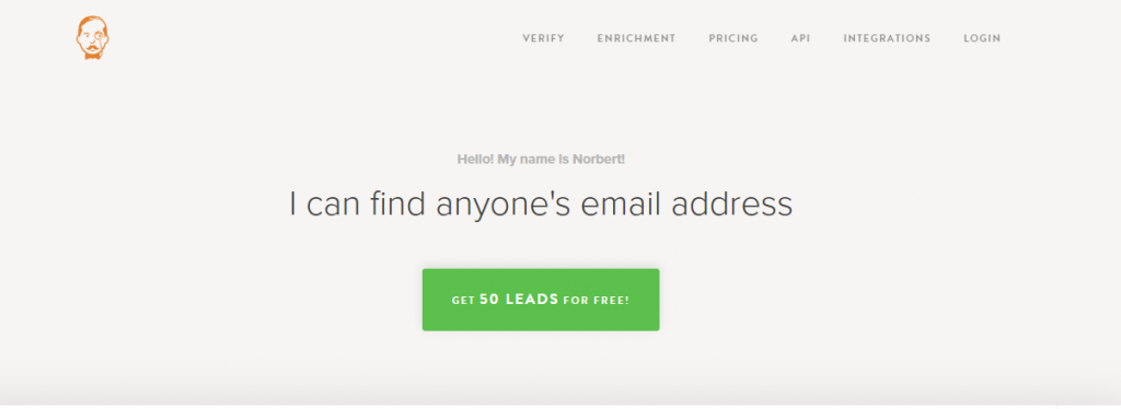 Voila norbert: Lead generation software