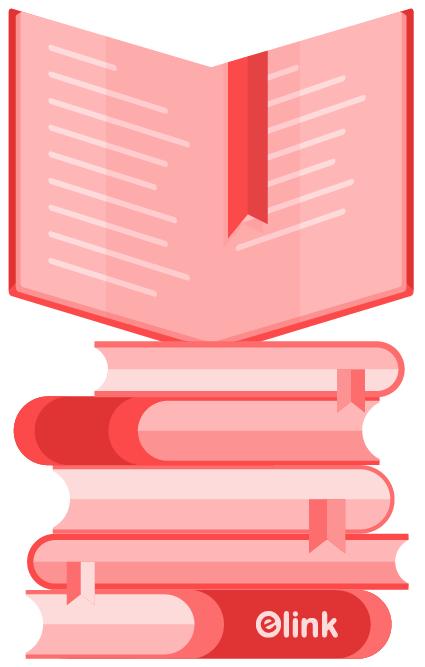 Animate bookmarks illustration