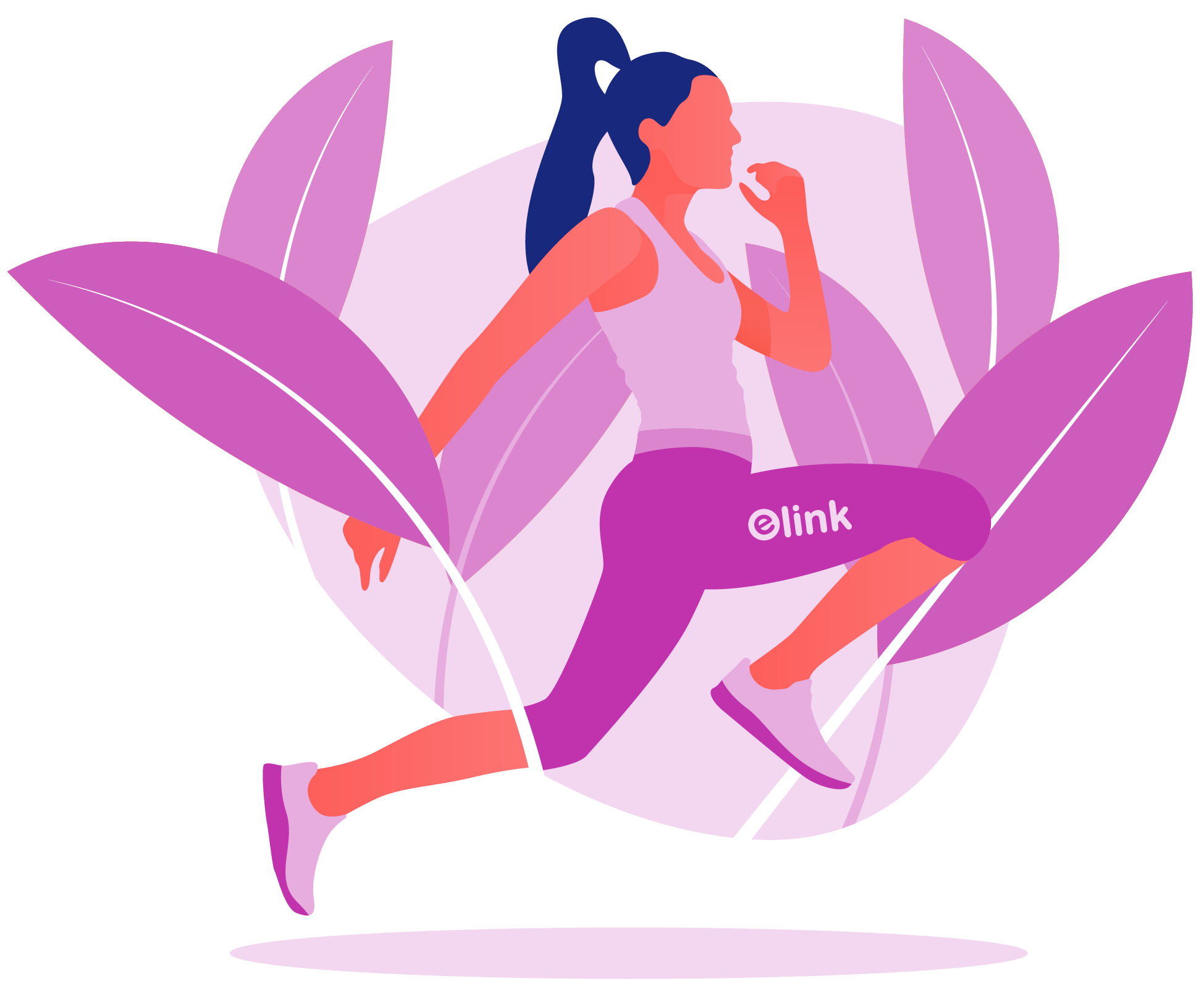 A girl running for better fitness