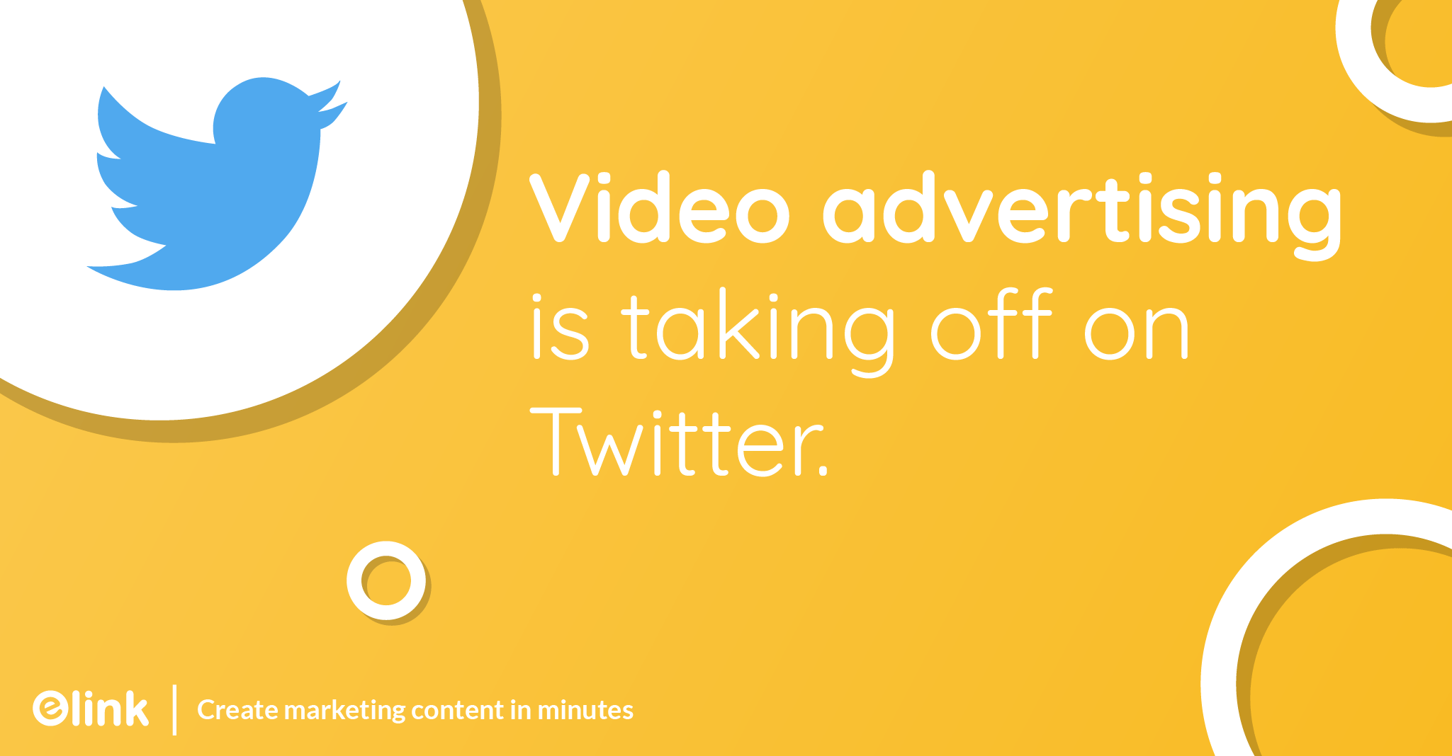 Video advertising is taking off on Twitter.