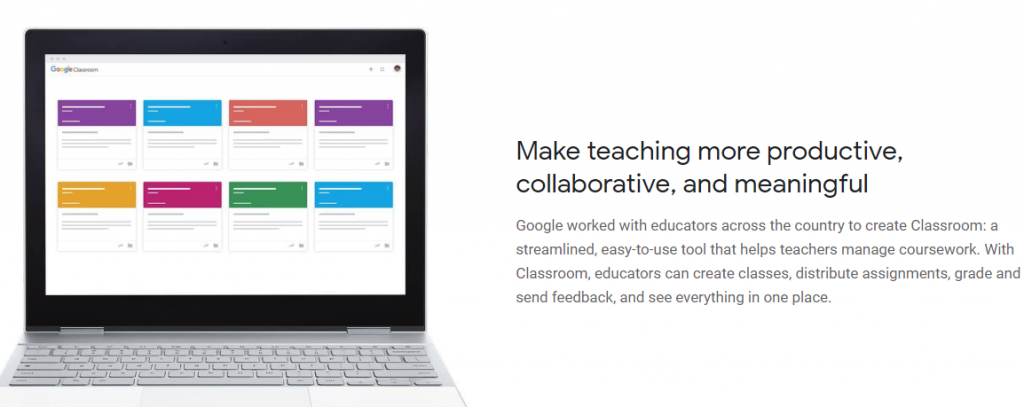 Google classroom app for teachers