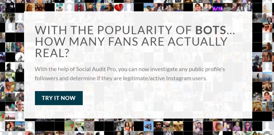 Socialauditpro tool for influencer marketing