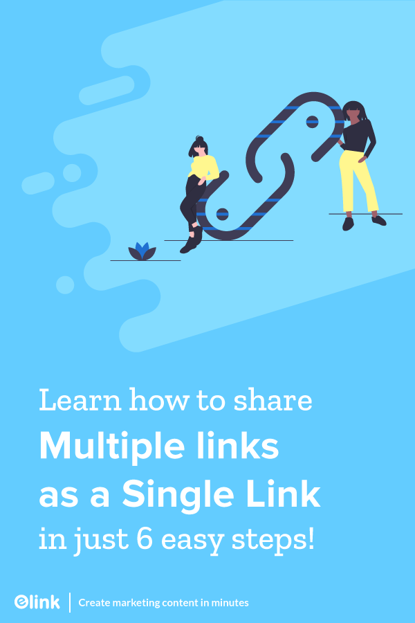 Add multiple links in one link - Pinterest