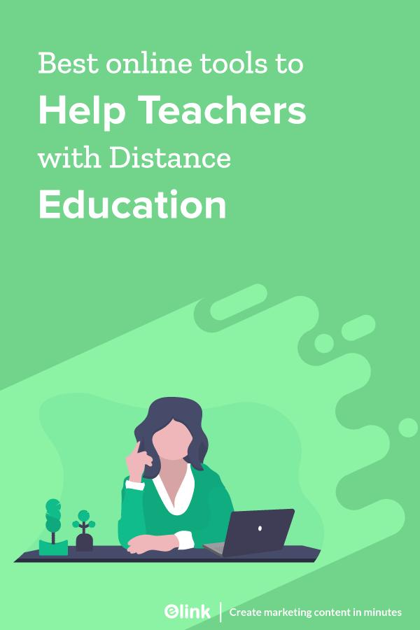 Online education tools for teachers - Pinterest