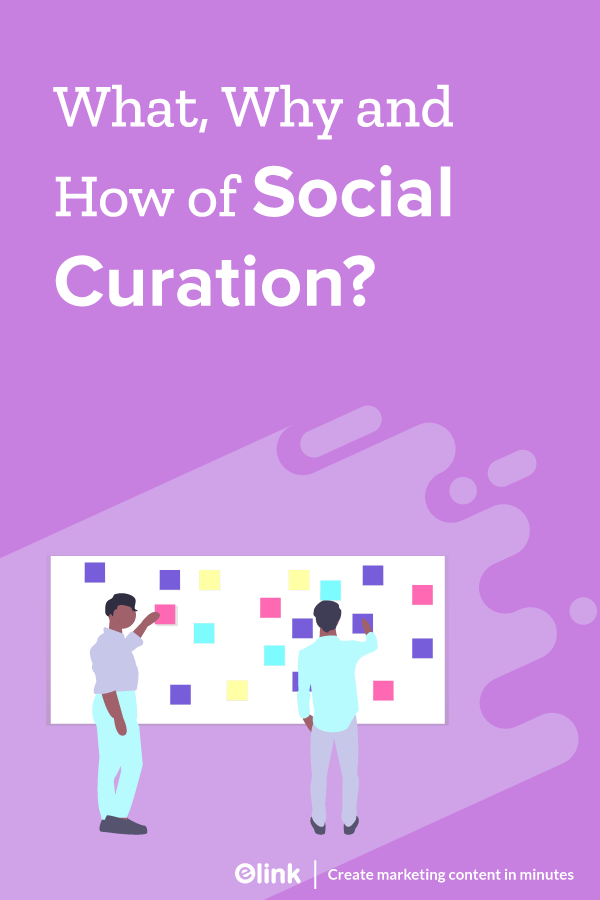 Social curation - Pinterest image