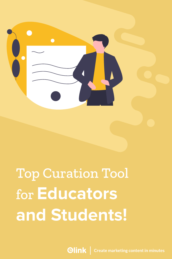 Top content curation tool for educators and students - pinterest