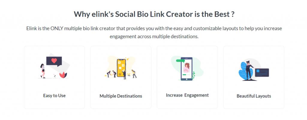 Benefits of using social bio link creator