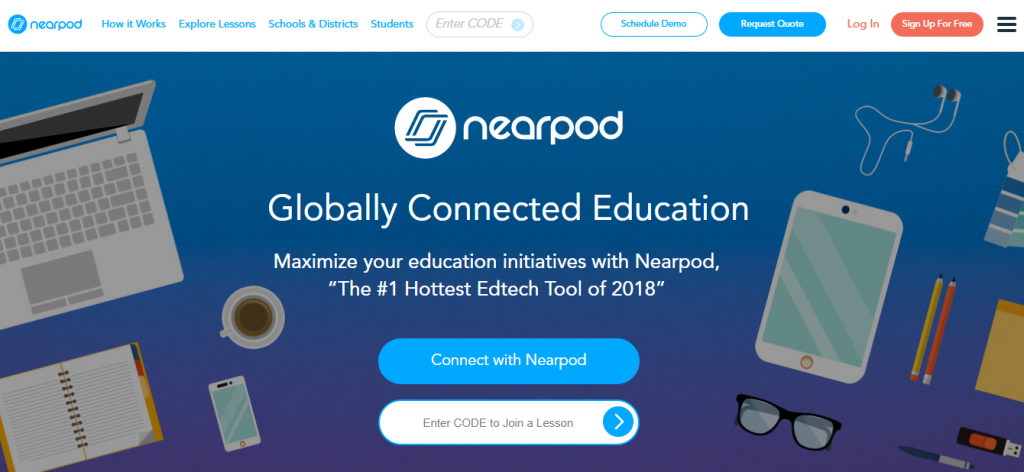 Nearpod: Online education tool for teachers