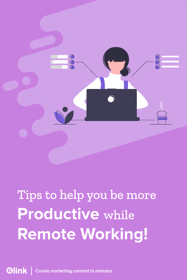 Tips to manage remote work successfully - Pinterest