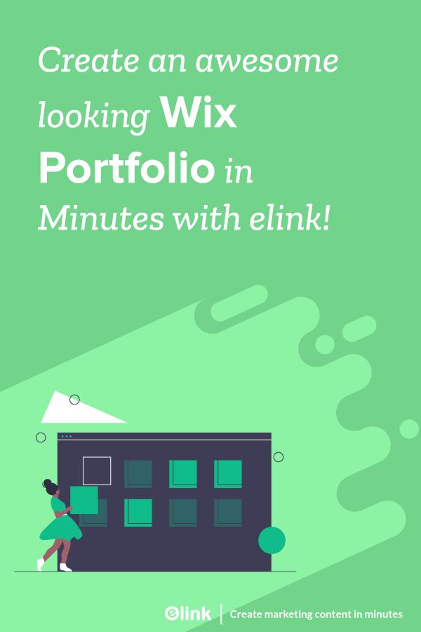 Create wix portfolio in minutes - Pinterest