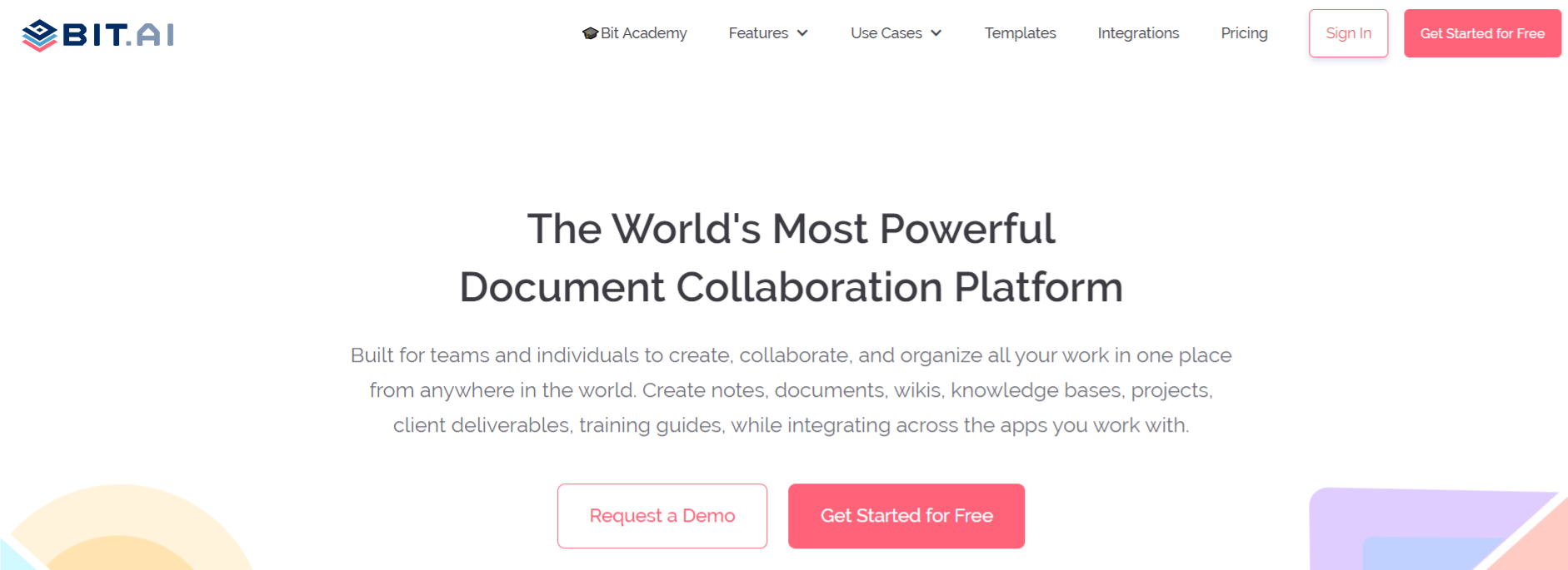 Bit.ai: Content curation tool