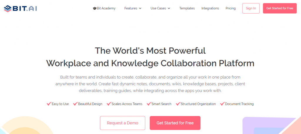 Bit.ai: Technical writing tool