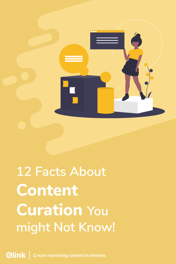 Content curation facts - pinterest