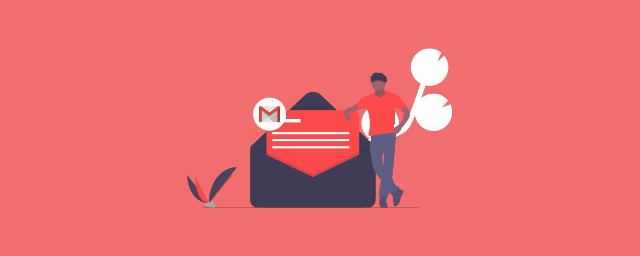 Benefits of gmail newsletter - blog banner