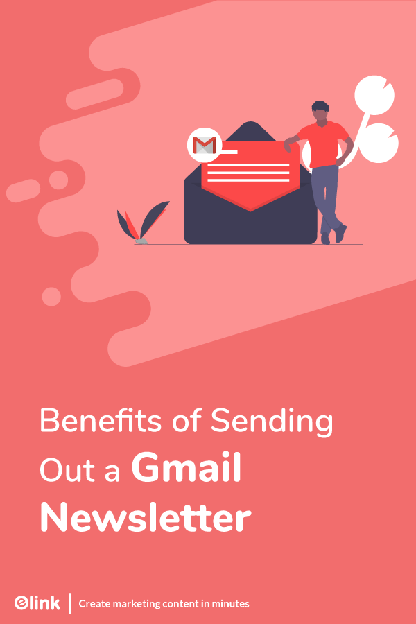 Benefits of gmail newsletter - pinterest