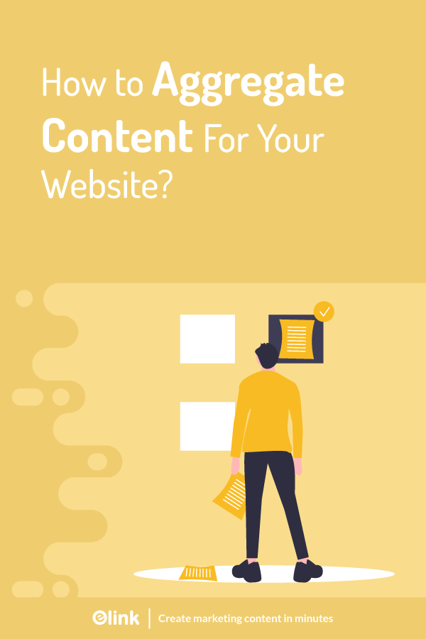 How to aggregate content for your website - pinterest