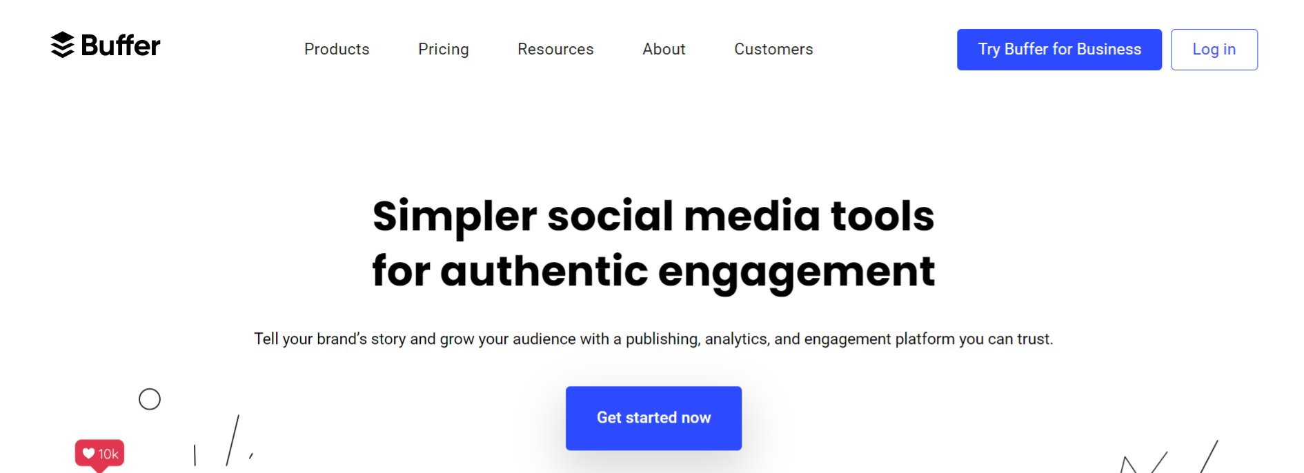 Buffer: Online marketing automation tool