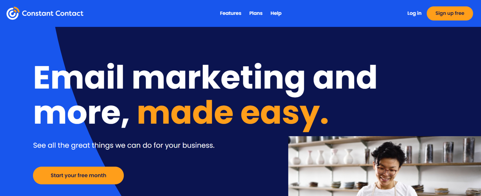 Constant contact: Online marketing automation tool