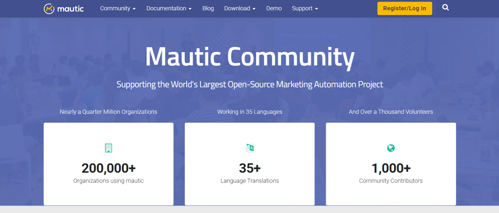 Mautic: Online marketing automation tool