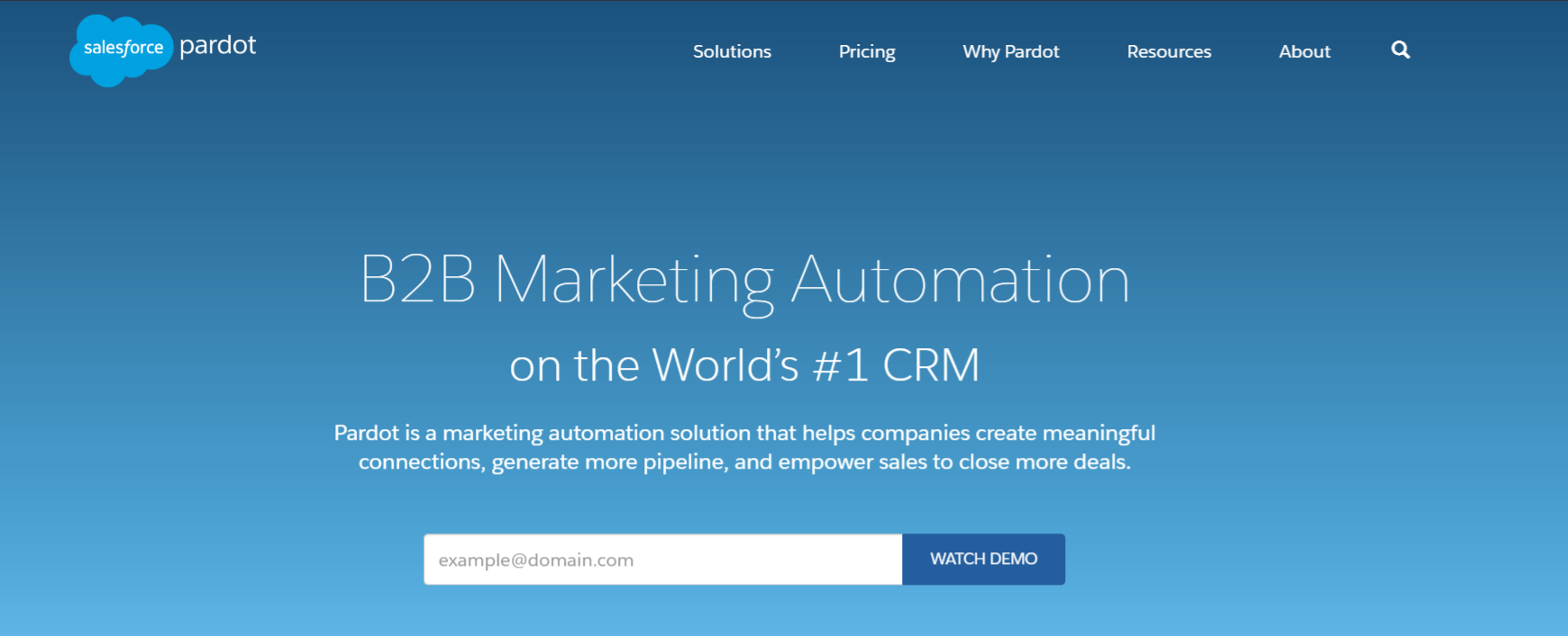 Pardot: Online marketing automation tool