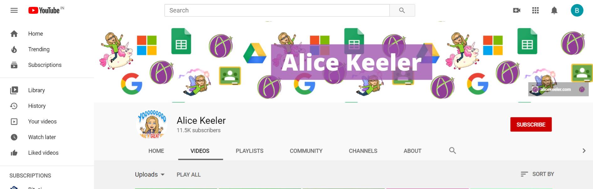 Alice Keeler: Edtech youtuber