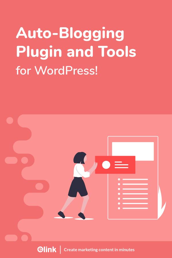 Auto blogging tools and plugins - pinterest