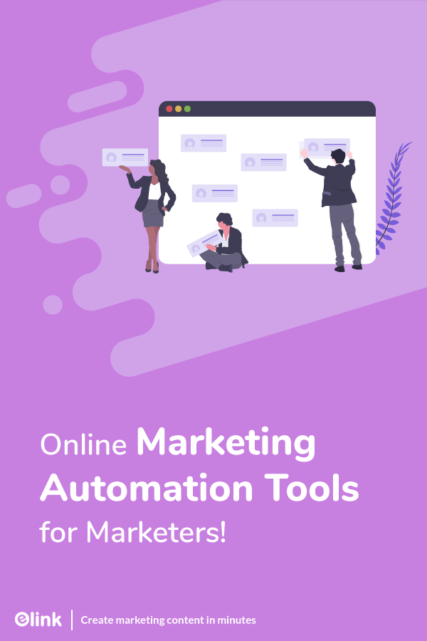 Online marketing automation tools - pinterest