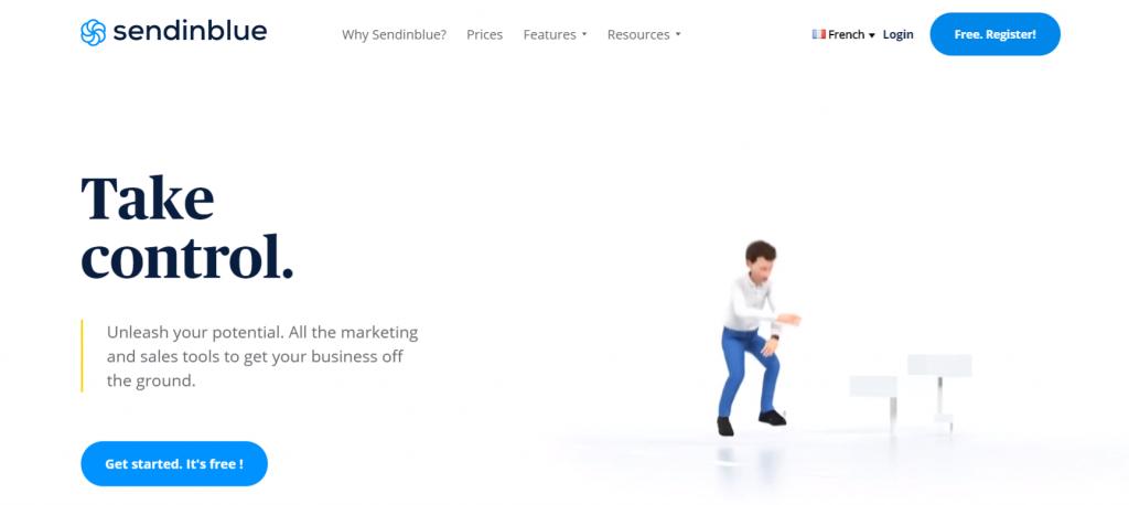 Sendinblue: Email marketing software