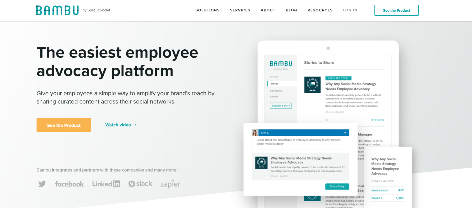 Bambu: Business marketing tool