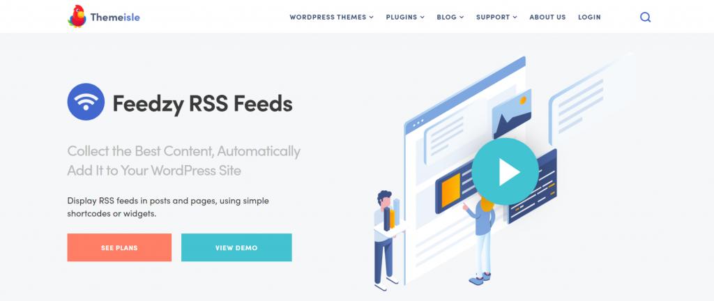 Feedzy rss feeds lite: Autoblogging plugin and tool