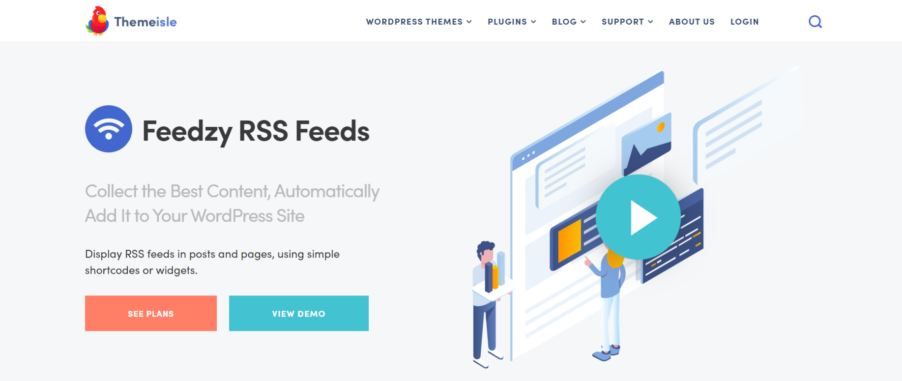 Feedzy rss feeds lite: Autoblogging plugin and tool