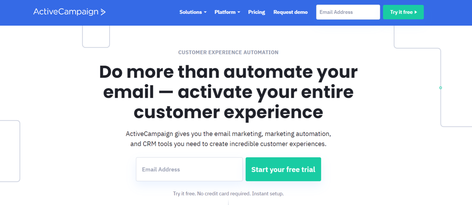 Active campaign: Email marketing automation tool