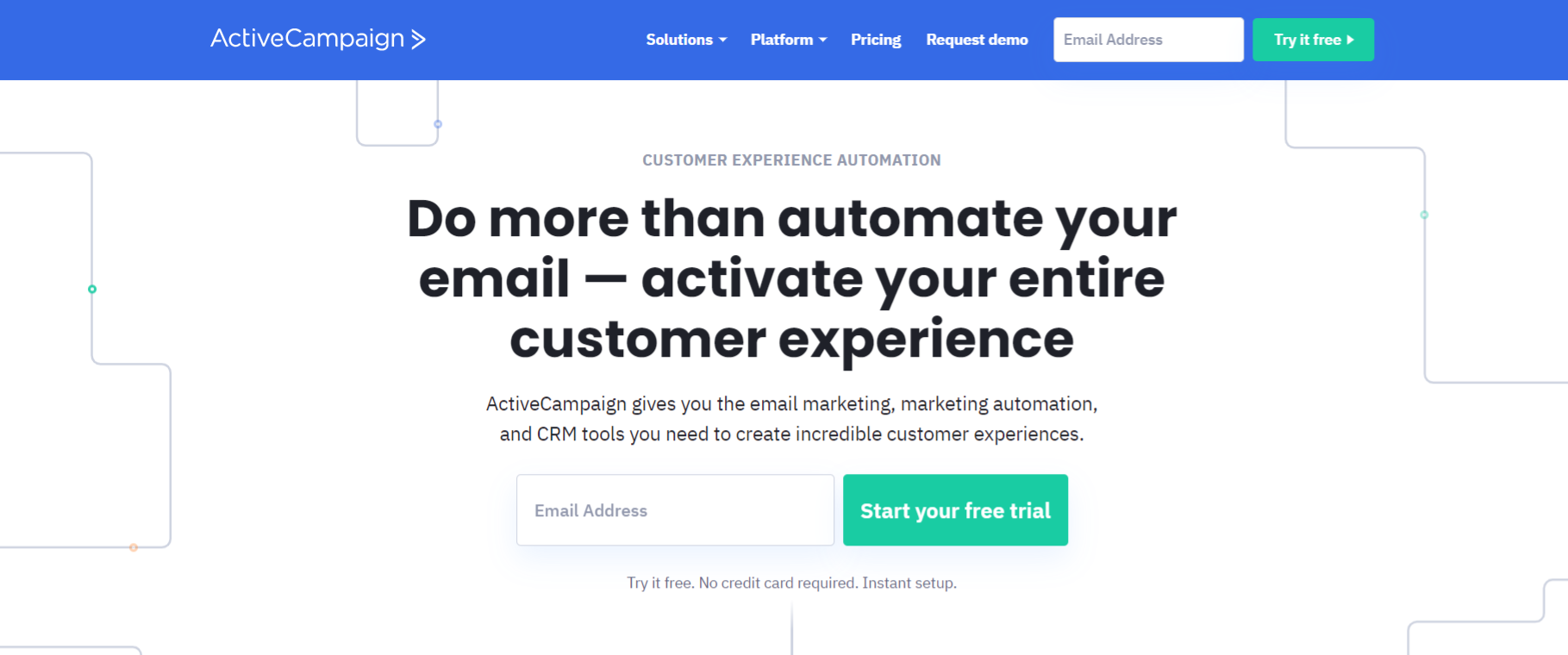 Activecampaign: Email marketing software