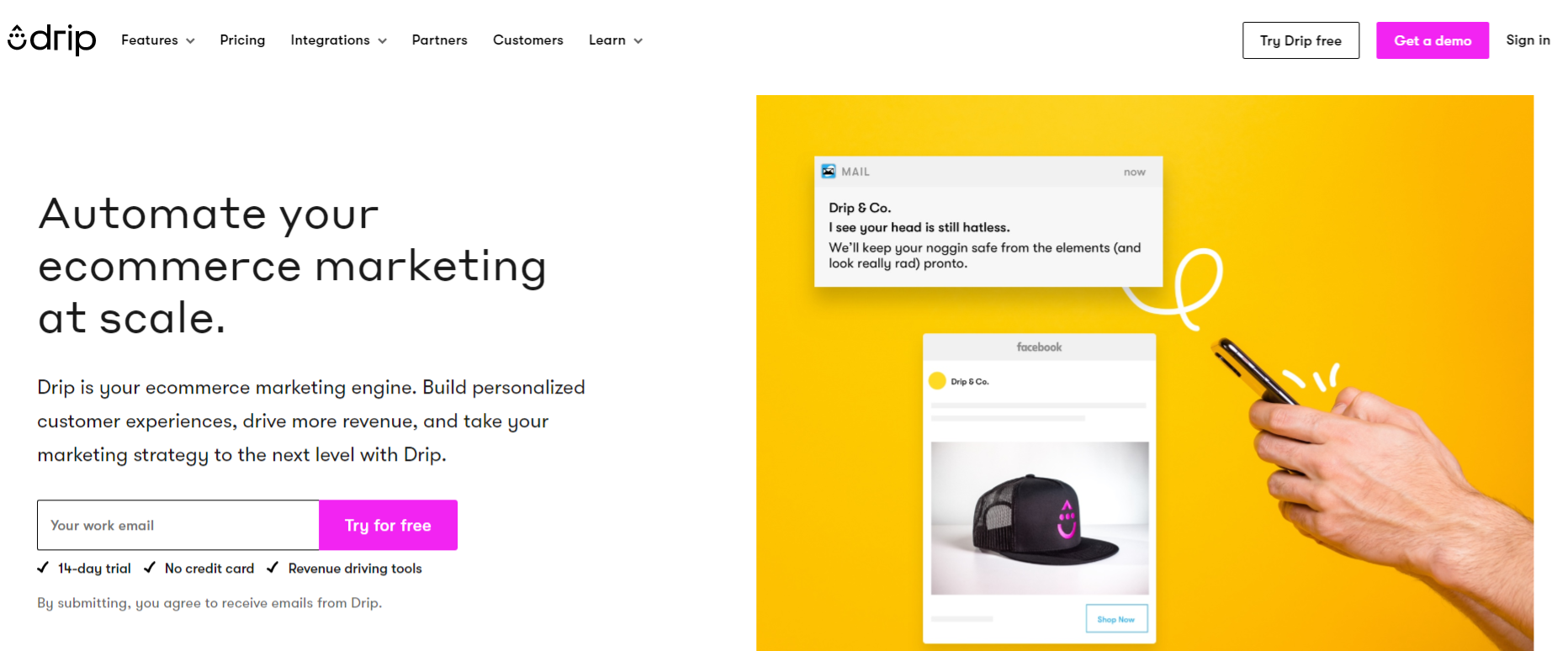 Drip: Email marketing automation tool