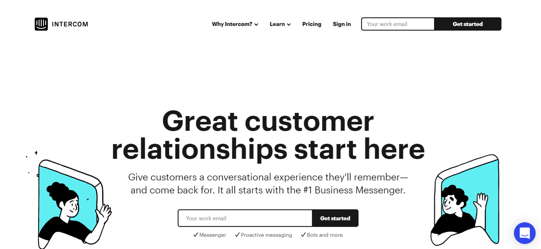 Intercom: Business marketing tool