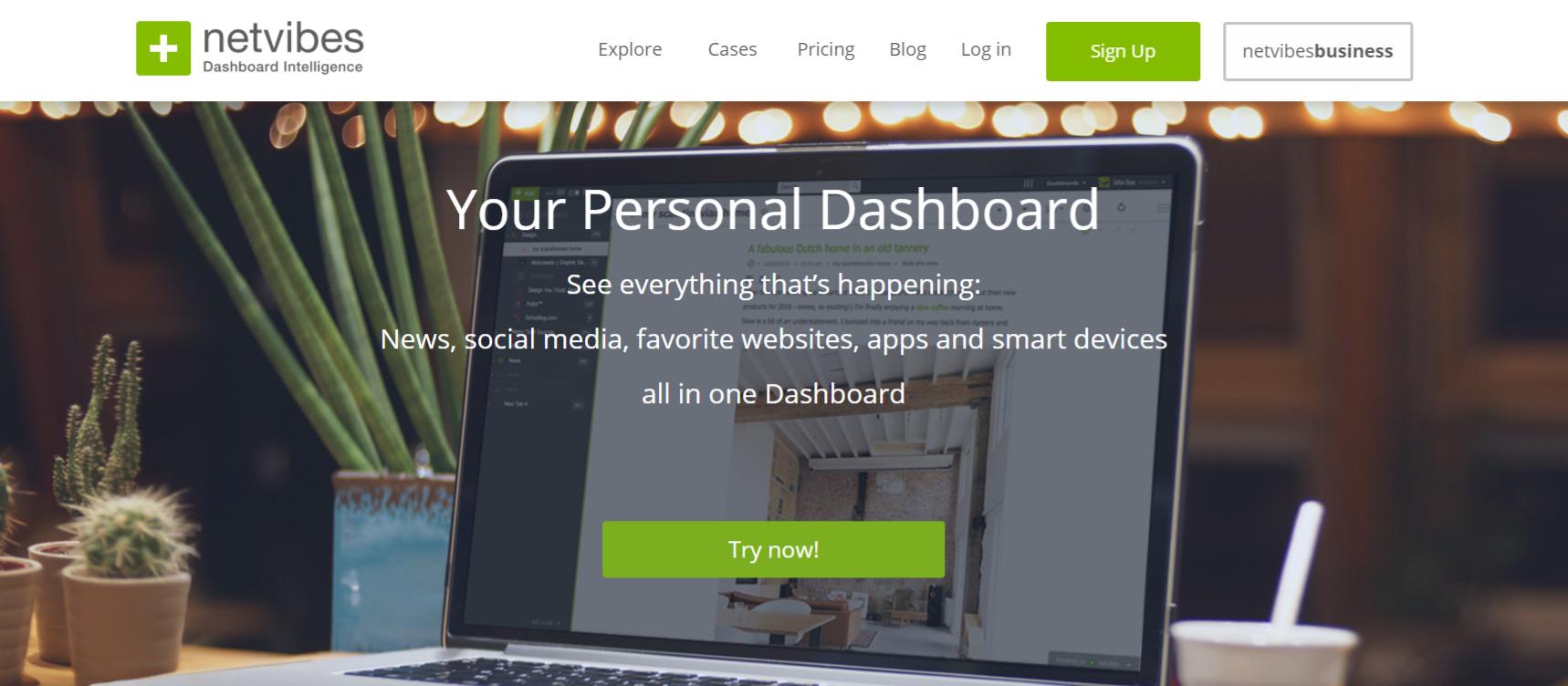 Netvibes: Collaborative bookmarking tools
