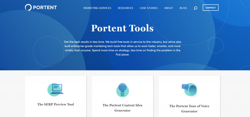 Potent content idea generator: Content generator tool