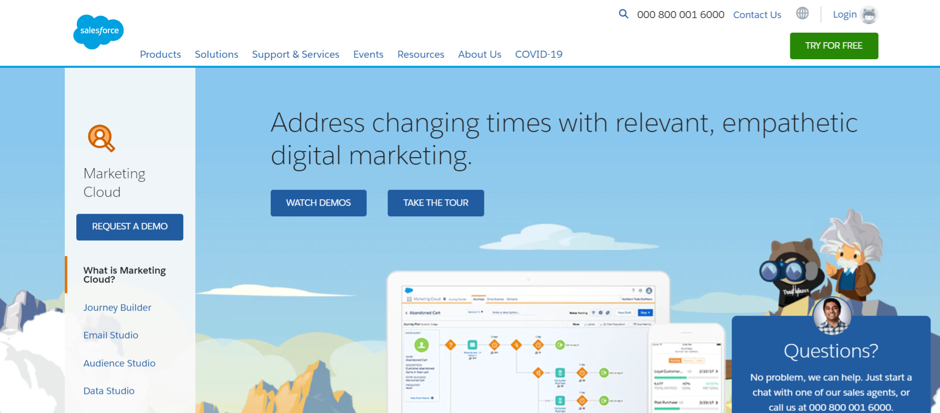 Salesforce marketing cloud: Business marketing tool