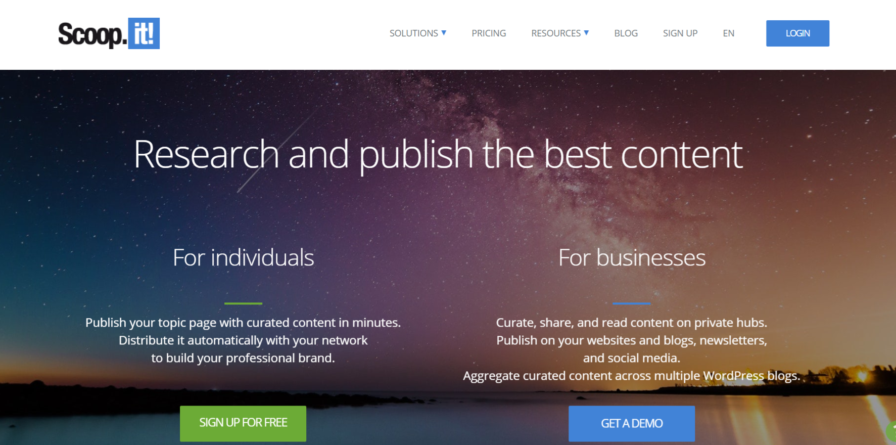 Scoop.it: Collaborative bookmarking tools