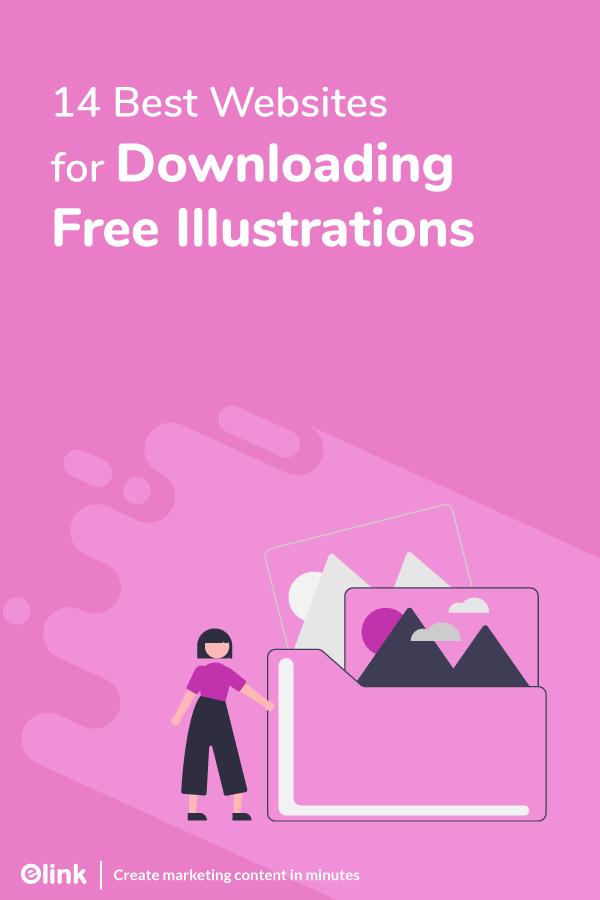 Free illustrations - pinterest