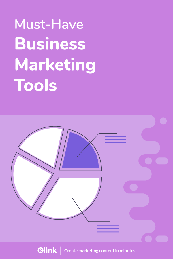 Business marketing tools - pinterest