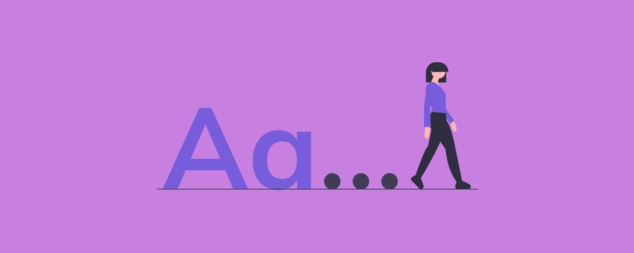 Free block letter fonts- blog banner