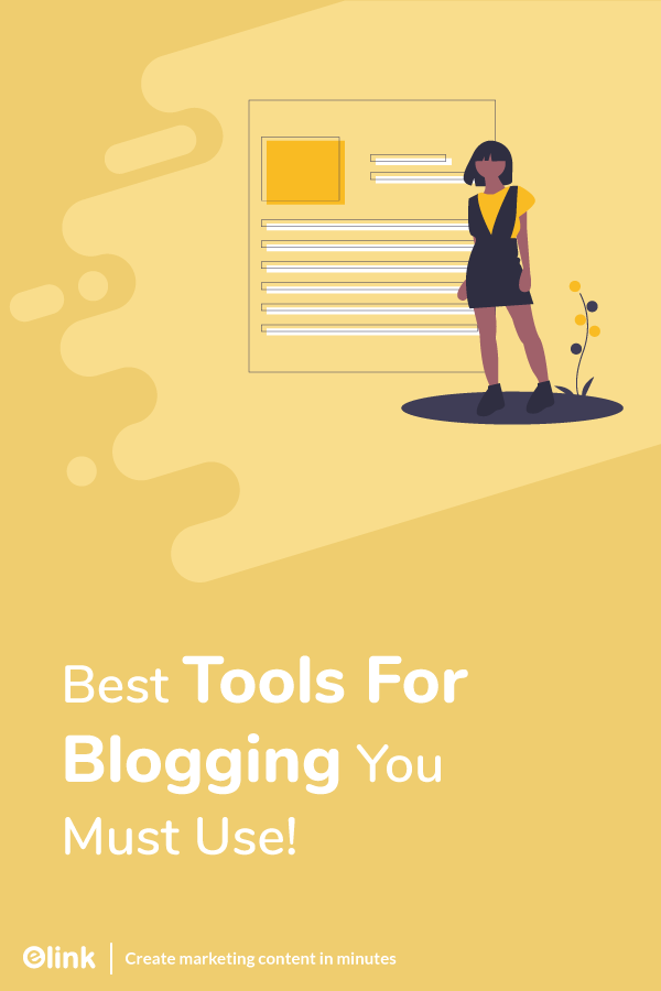 Tools to use for blogging - pinterest
