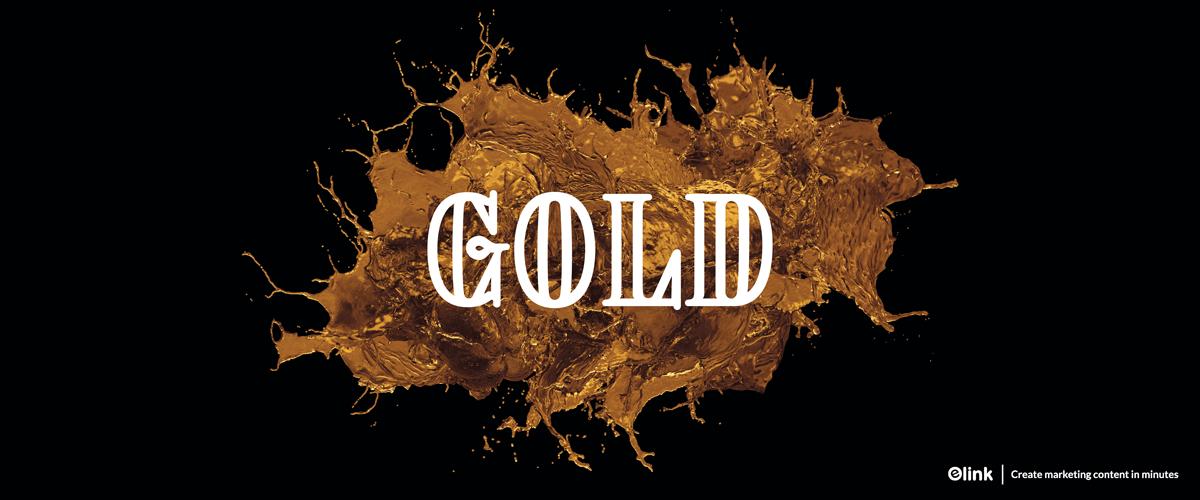 Goldpicker: Free Block Letter Font