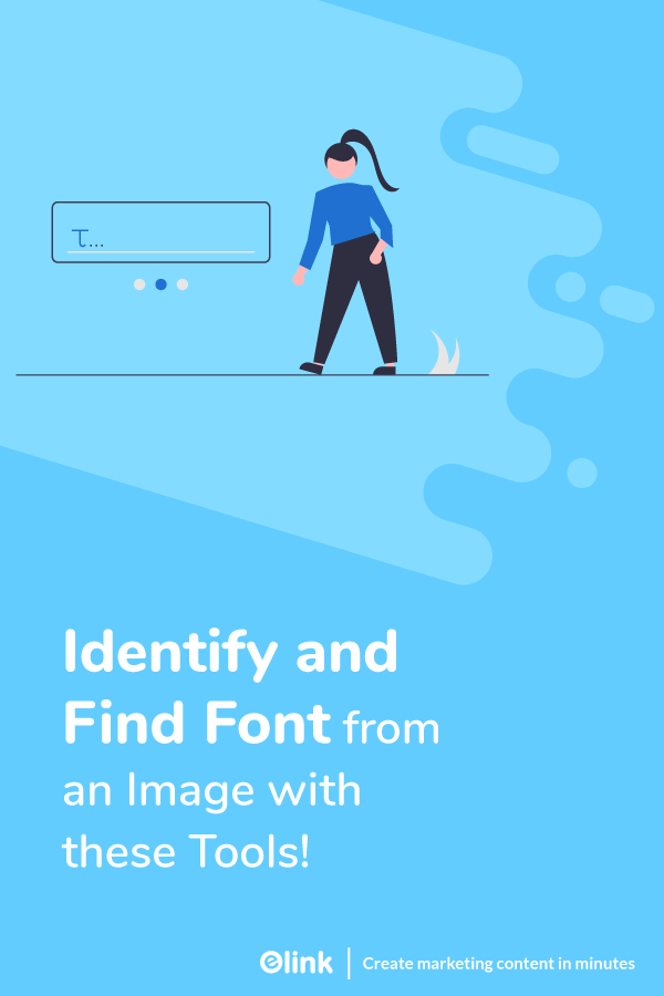 Identify and find font in an image - pinterest