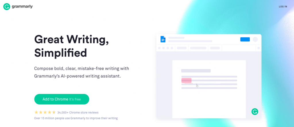 Grammarly: Tool for blogging