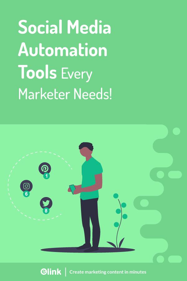 Social media automation tools - pinterest