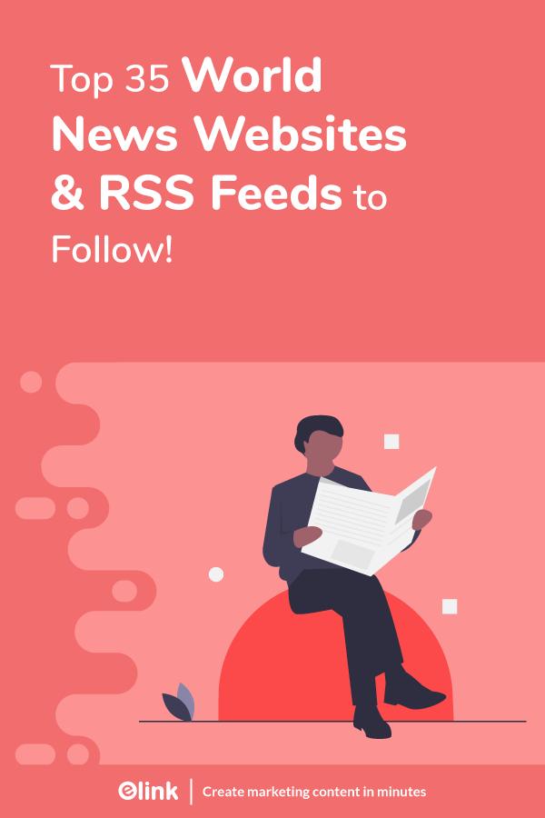 World news websites and rss feeds - Pinterest
