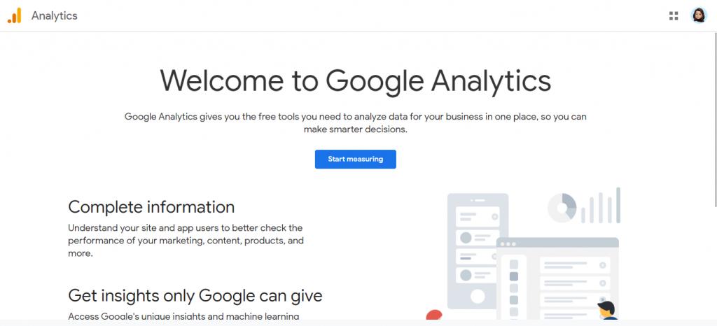 Google analytics: Tool for blogging