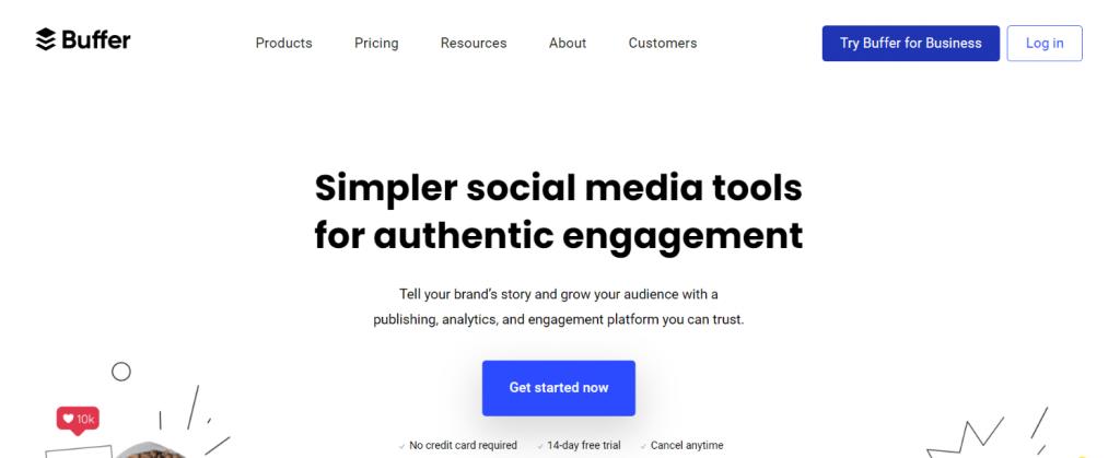Buffer: Social media automation tool